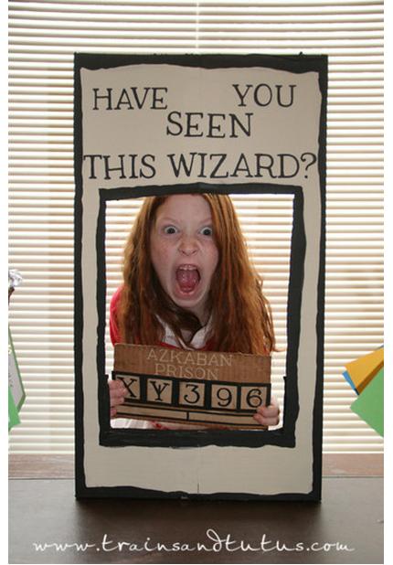 Le photobooth «Avis de recherche Sirius Black»