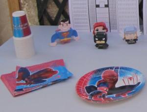vaisselles Super-héros