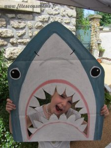 Photobooth Requin