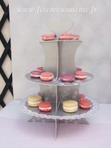 Macarons Table Gourmande Petite Pâtisserie - Fêtes vous même