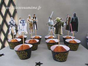 Table Gourmande Star Wars - Cupcakes - Fêtes vous même