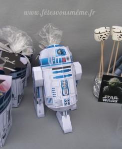 """Décoration """"Star Wars"""" - R2D2 - Fêtes vous même"""