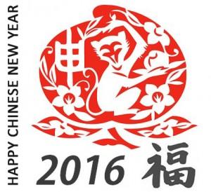2016 -année du singe