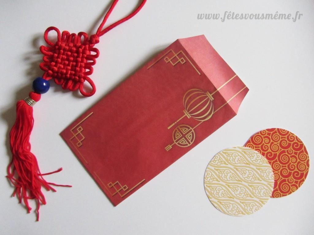 Enveloppe rouge chinoise1