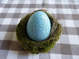 décorer des œufs-craquelés