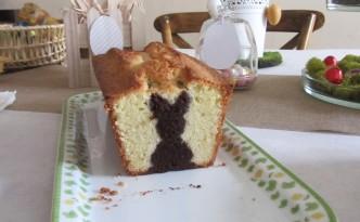 Gâteau caché lapin - Fêtes vous même - Pâques
