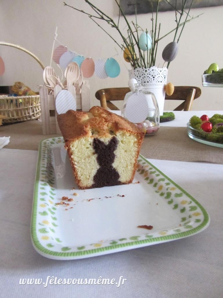 Gâteau caché lapin 2 - Fêtes vous même