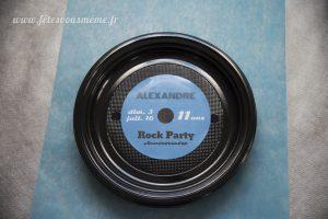 Assiette Rock Party