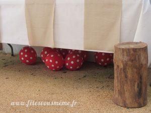 Décoration Thème Forêt - Ballon champignons - Fêtes vous même
