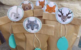 Cadeaux Invités Thème Forêt - Fêtes vous même