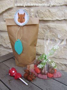 Cadeaux Invités Thème Forêt - Détail contenu - Fêtes vous même