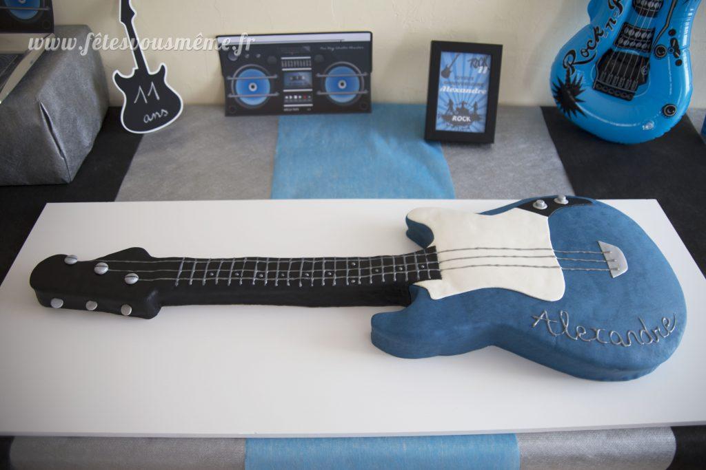 Gateau guitare