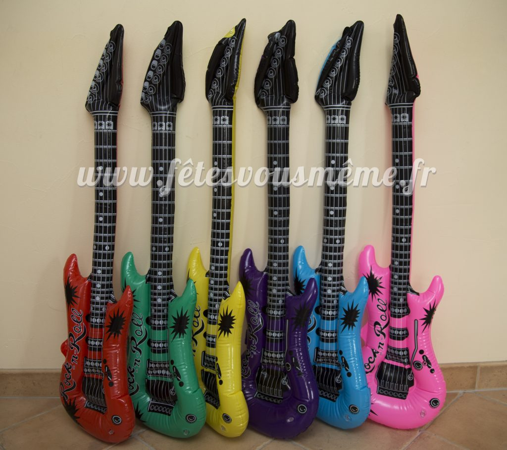 Guitares gonflables