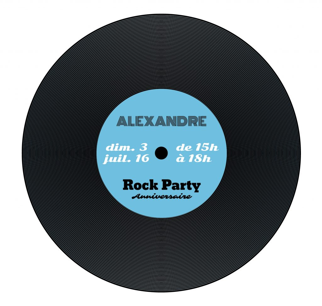 Invitation Vinyl