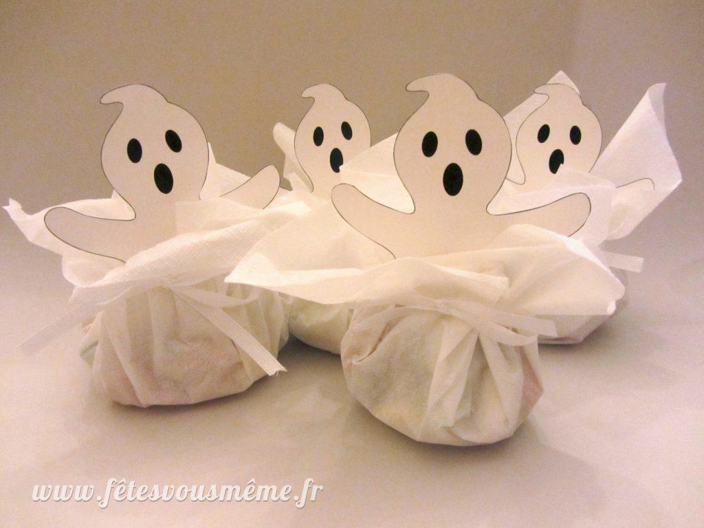 Bourses à bonbons Fantômes - groupe - Fêtes vous même