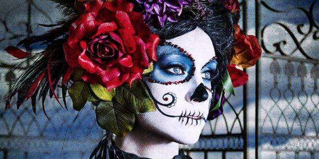 Maquillage Catrina Dia de los muertos