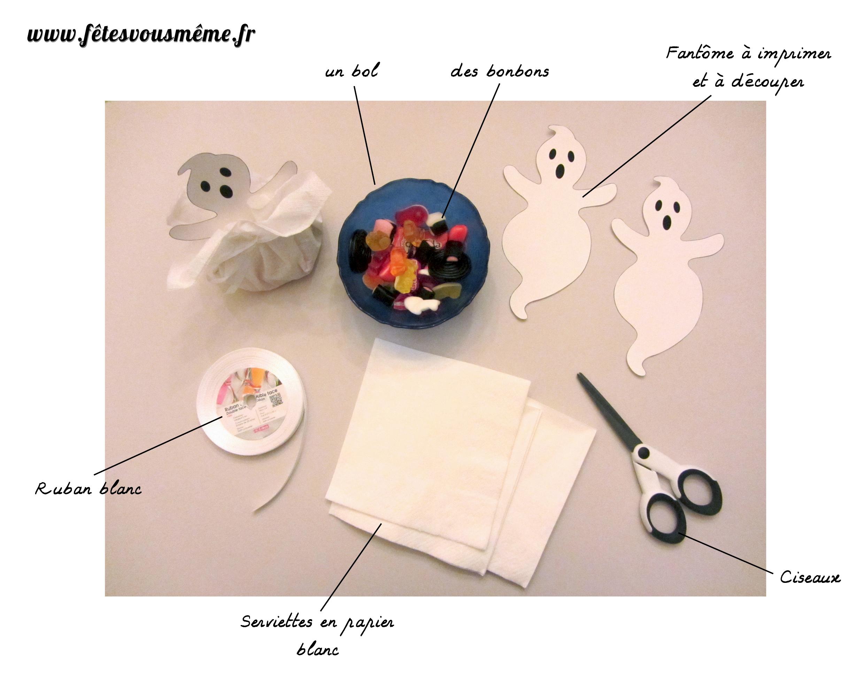 fournitures-Fantôme-bourse-bonbons-halloween
