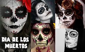 maquillage fête des morts