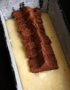 Gâteau caché lapin - découpe 2 - Fêtes vous même