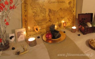 Réveillon Game of Thrones - Buffet - Fêtes vous même