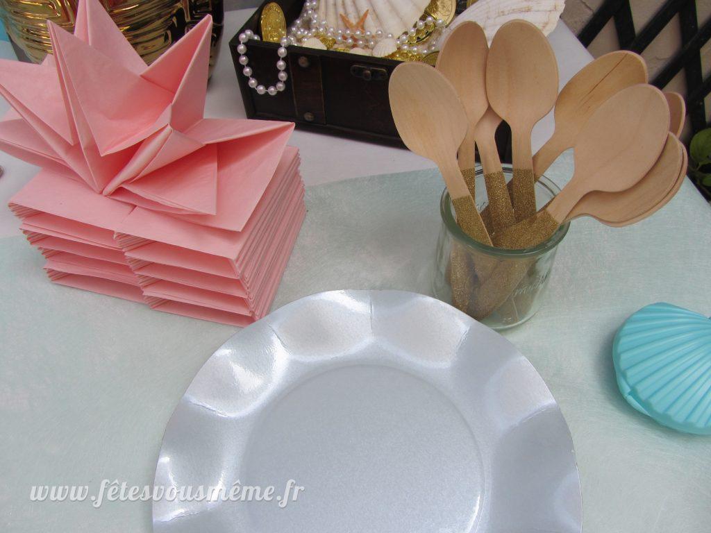 Décoration monde de la mer - vaisselle - Fêtes vous même