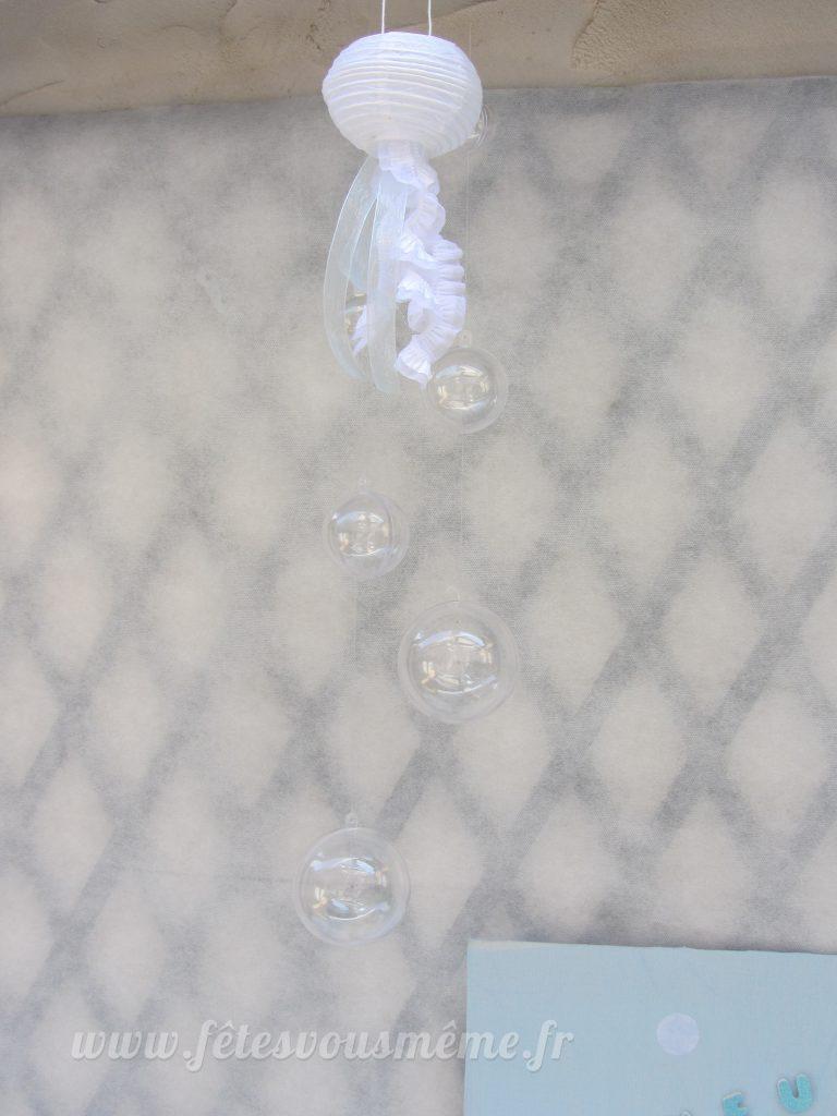 Décoration monde de la mer - mobile bulles - Fêtes vous même