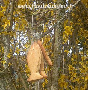 Biscuits Poissons d'Avril accrochés - Fêtes vous même