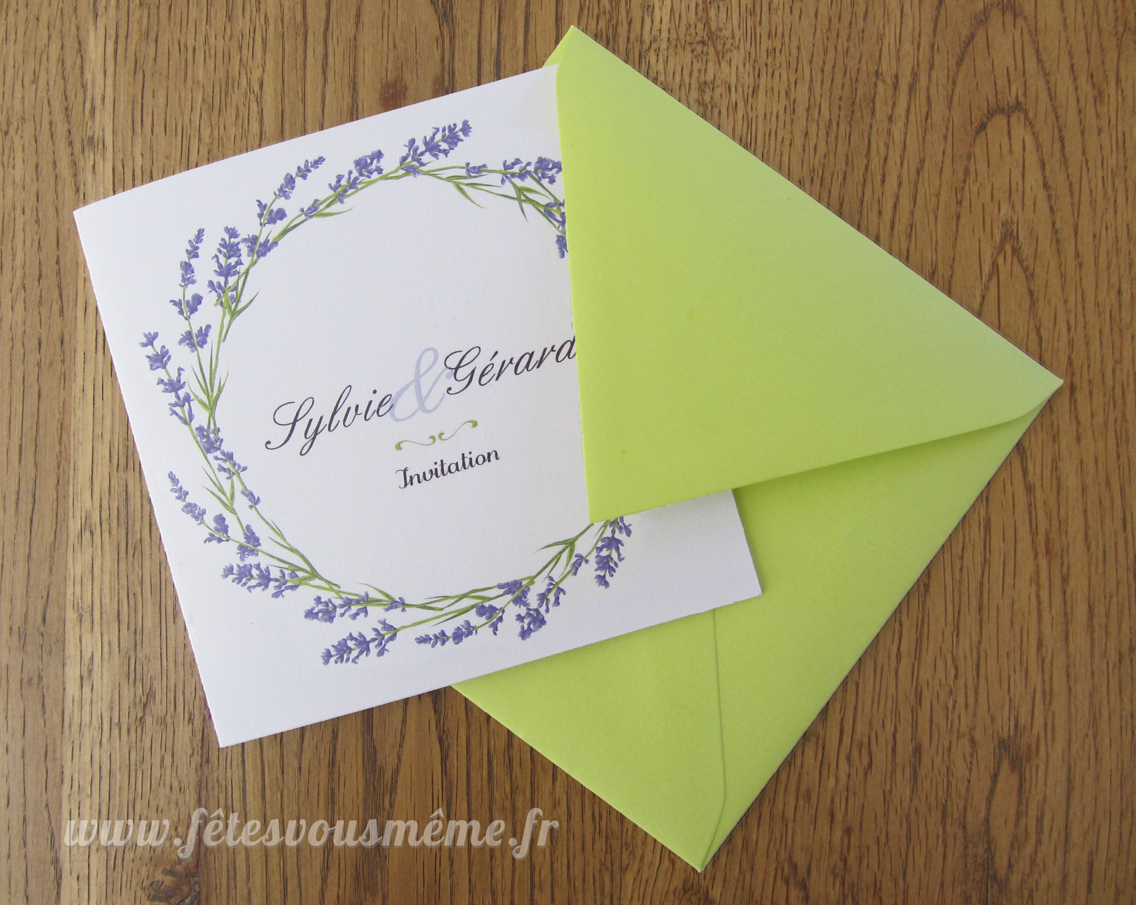 Mariage-Papeterie