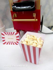 Table Gourmande Fête Foraine - popcorn 2 - Fêtes vous même
