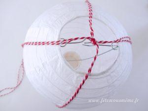 DIY Montgolfière - Etape 1 - Fêtes vous même