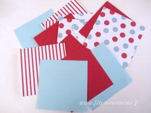 Moulins à vent - Papiers colorés 2 - Fêtes vous même
