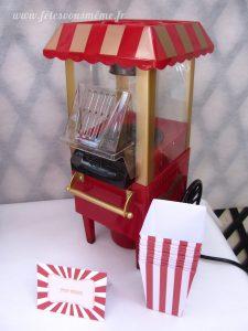 Table Gourmande Fête Foraine - popcorn 1 - Fêtes vous même