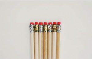 DIY de rentrée - crayons paillettes - Fêtes vous même