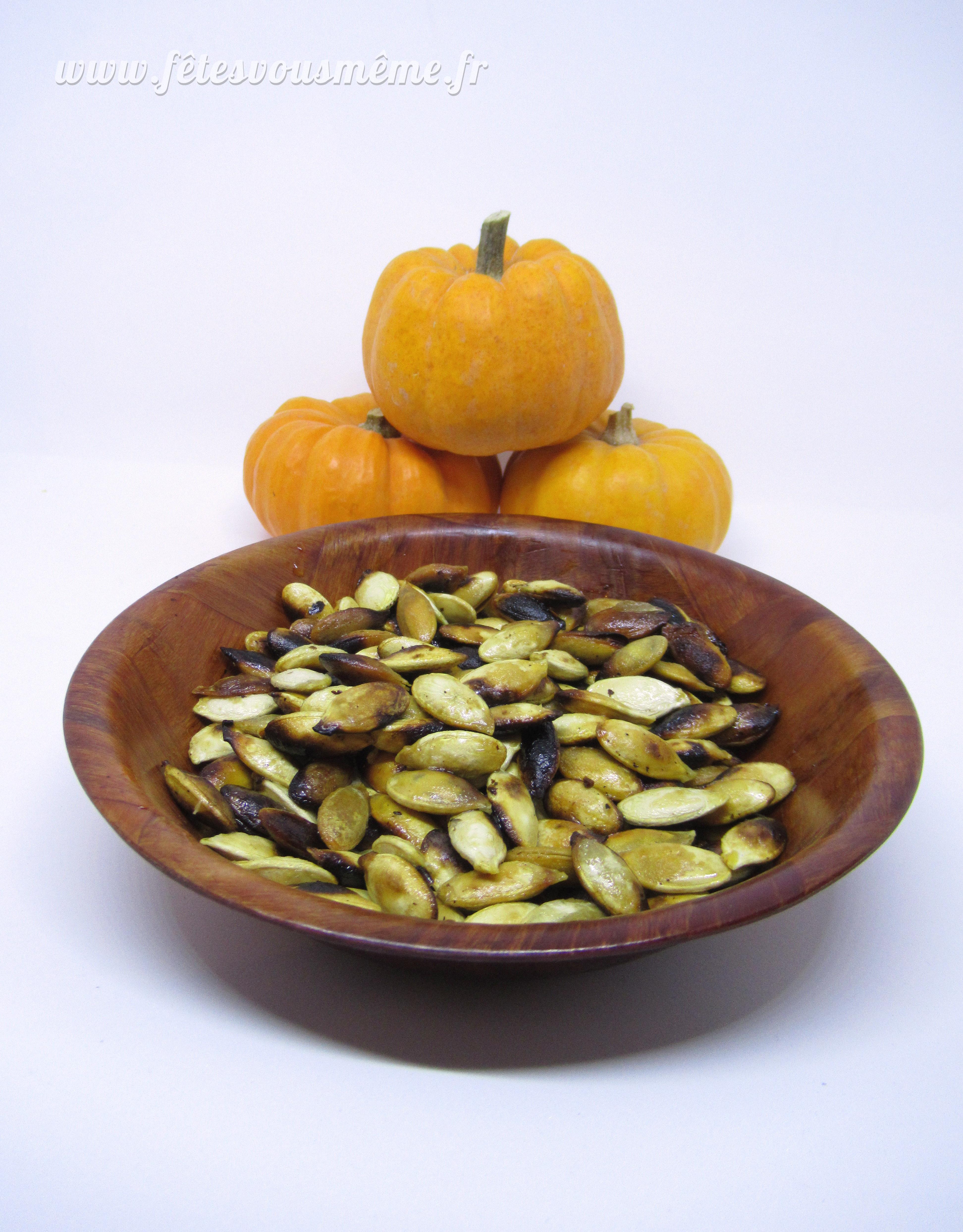 Optimisez votre citrouille graines de citrouille magique - Faire griller des graines de citrouille ...