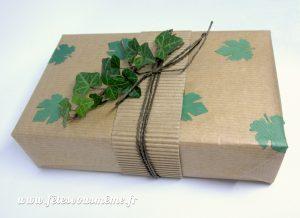 Papier Cadeau Inspiration Nature - Fêtes vous même