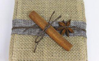 Paquet Cadeau Nature - Cannelle et badiane - Fêtes vous même
