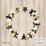 Couronne – Guirlande en papier Noël & Nouvel-An