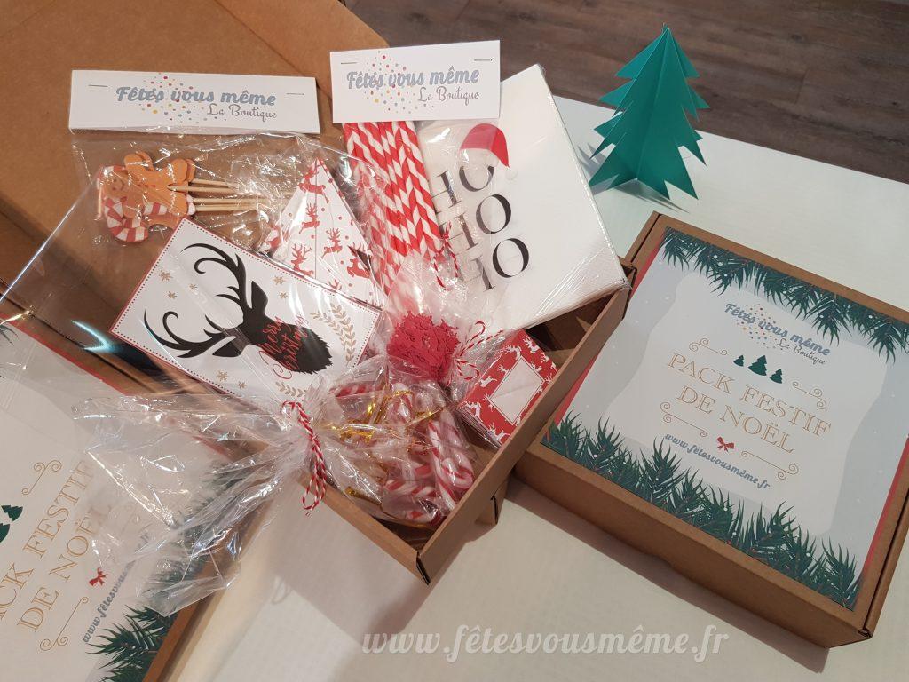 Pack Festif de Noël - Fêtes vous même.