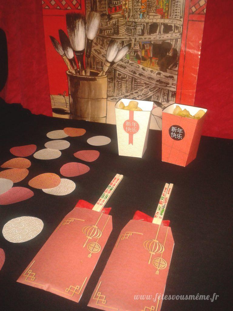 Déco Chinoise - Kit Déco Nouvel An Chinois - Fêtes vous même