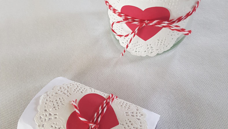 Décoration de table Saint-Valentin – DIY