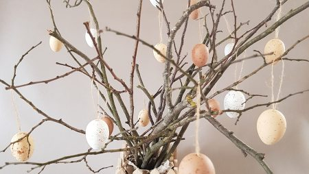 Arbre à œufs – décoration de pâques