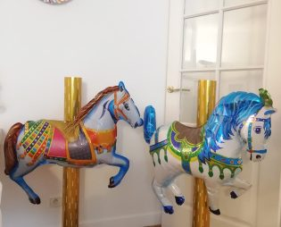 Chevaux Carrousel ballon grand format