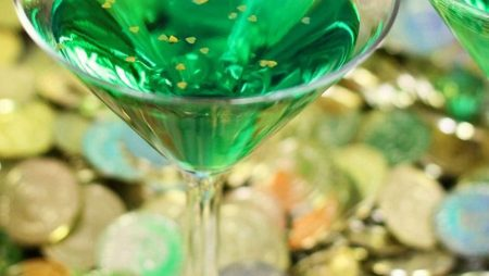 Cocktail Leprechaun pour la Saint-Patrick