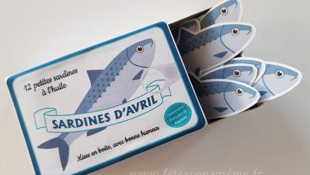 Boîte à sardines d'avril